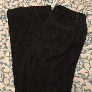 Loft Jeans with Flared Bottoms